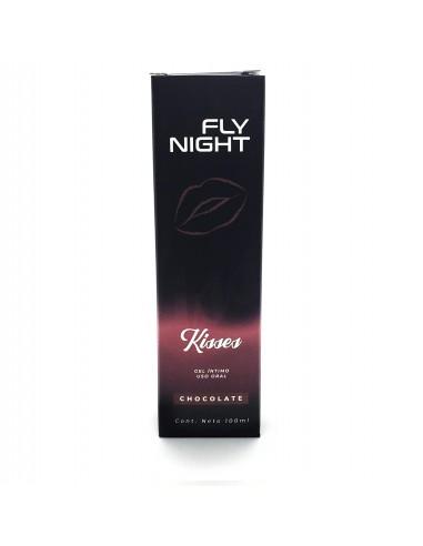 Gel Íntimo Fly Night Kisses Sabor...